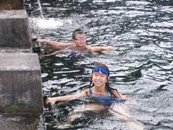 Tirta Gangga Aya Kiya Swimming