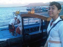 Menuju Pulau Menjangan