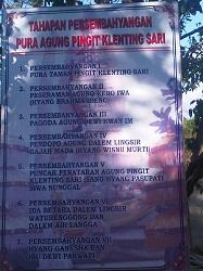 Urutan Tirta Yatra