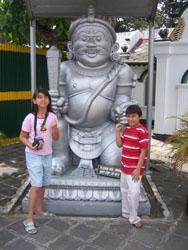 Keraton Jogja - Aya Kiya Patung Gerbang