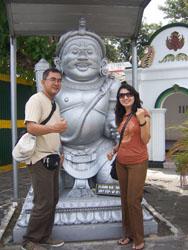 Keraton Jogja - Mum Dad Patung Gerbang