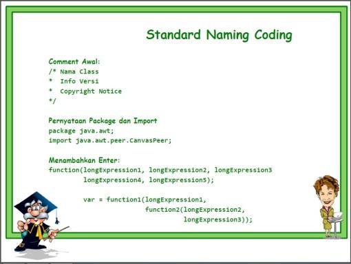 Standard Naming 01