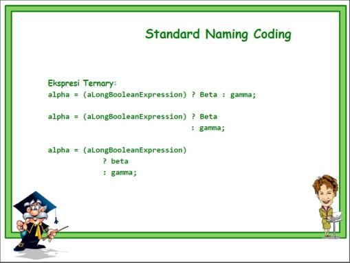 Standard Naming 03