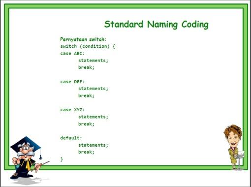 Standard Naming 08