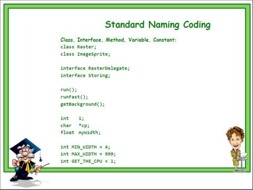 Standard Naming 10