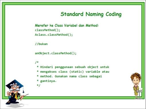 Standard Naming 11