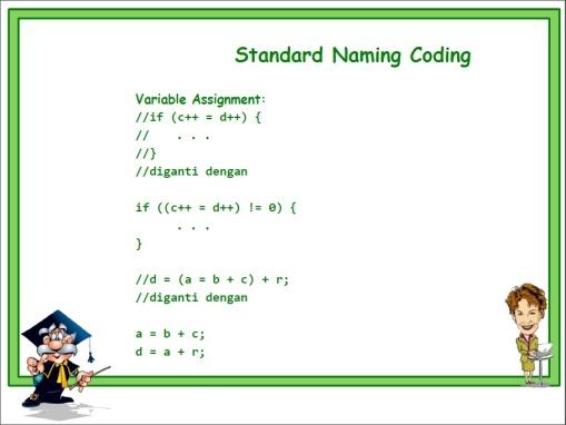 Standard Naming 12