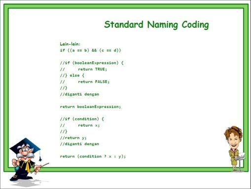 Standard Naming 13